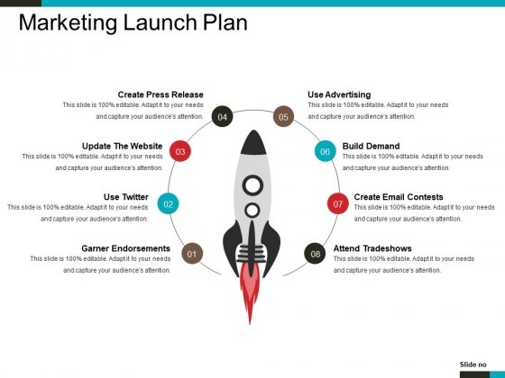 Marketing Launch Plan Ppt PowerPoint Presentation Outline Shapes