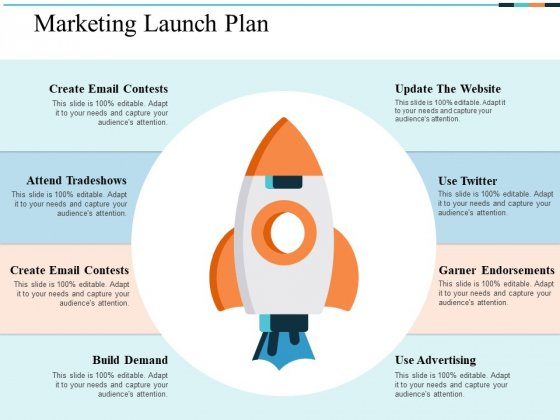 Marketing Launch Plan Ppt PowerPoint Presentation Pictures Demonstration