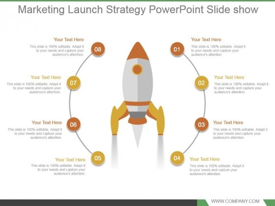 Marketing Launch Strategy Powerpoint Slide Show