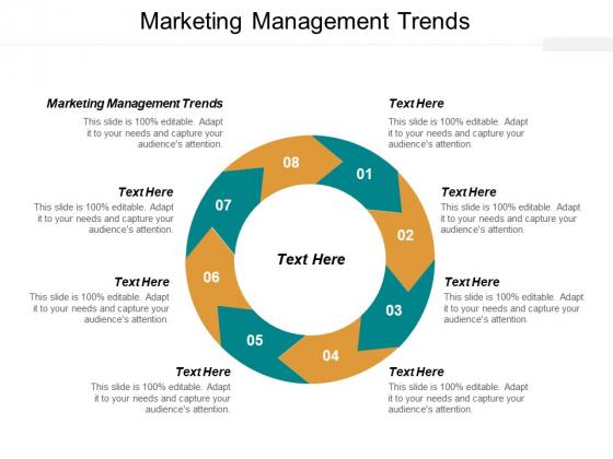 Marketing Management Trends Ppt PowerPoint Presentation Portfolio Summary Cpb
