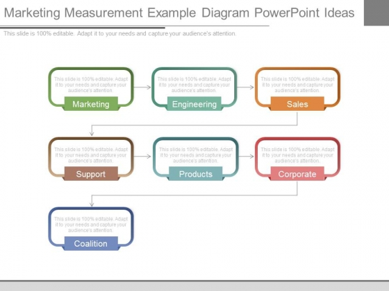 Marketing Measurement Example Diagram Powerpoint Ideas