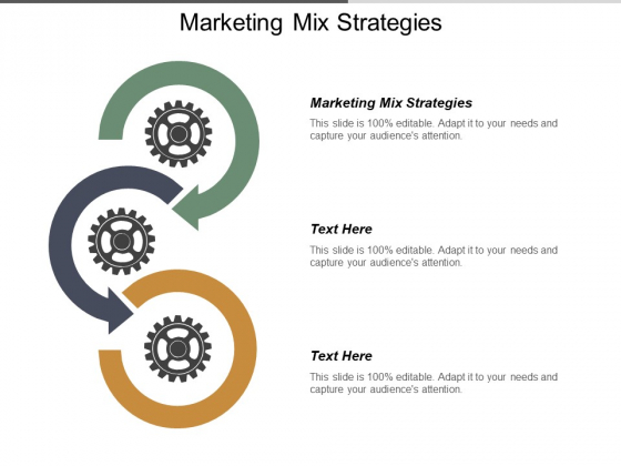 Marketing Mix Strategies Ppt PowerPoint Presentation Summary Templates Cpb