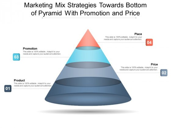 Marketing Mix Strategies Towards Bottom Of Pyramid With Promotion And Price Ppt PowerPoint Presentation File Examples PDF