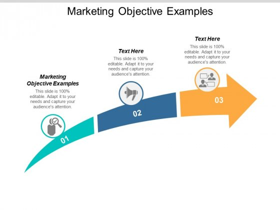 Marketing Objective Examples Ppt PowerPoint Presentation Inspiration Maker Cpb