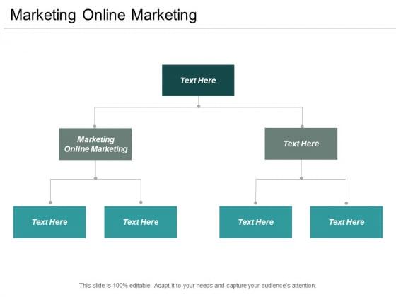 Marketing Online Marketing Ppt PowerPoint Presentation File Topics Cpb