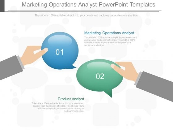 Marketing Operations Analyst Powerpoint Templates