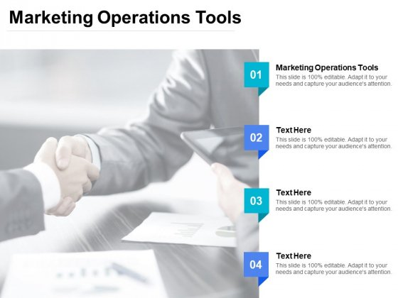 Marketing Operations Tools Ppt PowerPoint Presentation Inspiration Infographics Cpb