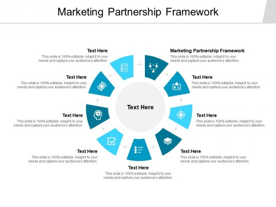 Marketing Partnership Framework Ppt PowerPoint Presentation Gallery Graphics Tutorials Cpb