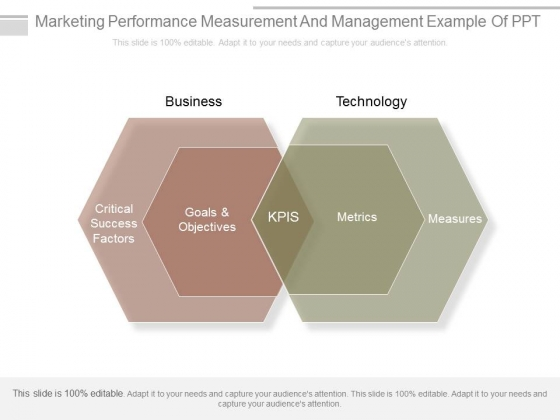 Marketing Performance Measurement And Management Example Of Ppt