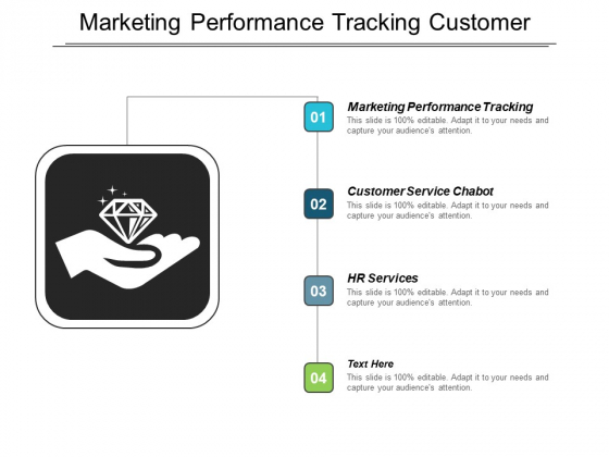 Marketing Performance Tracking Customer Service Chabot Hr Services Ppt PowerPoint Presentation Infographic Template Show