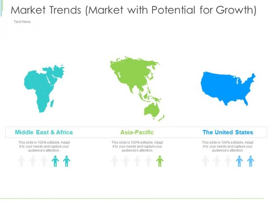 Marketing Plan Implementation Market Trends Market With Potential For Growth Summary PDF