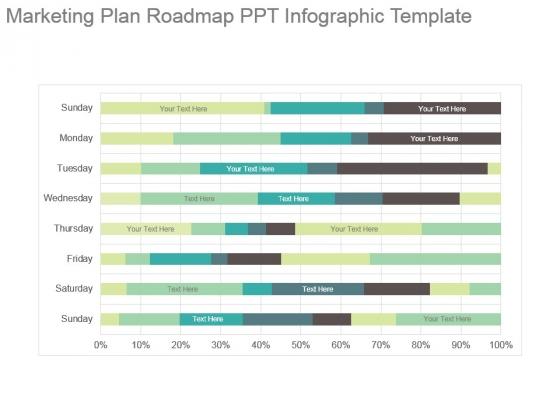 Marketing Plan Roadmap Ppt Infographic Template