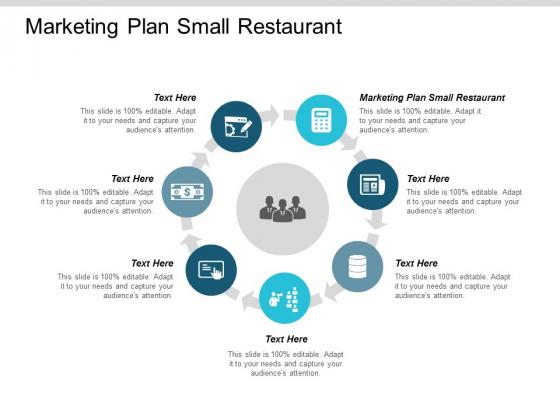 Marketing Plan Small Restaurant Ppt Powerpoint Presentation Portfolio Visual Aids Cpb