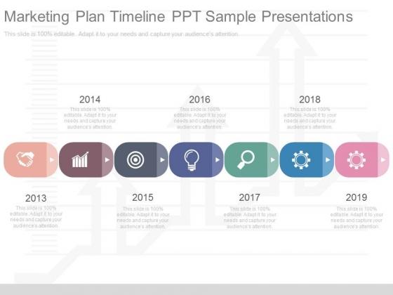 Marketing Plan Timeline Ppt Sample Presentations PowerPoint Templates - Sample marketing presentation ppt