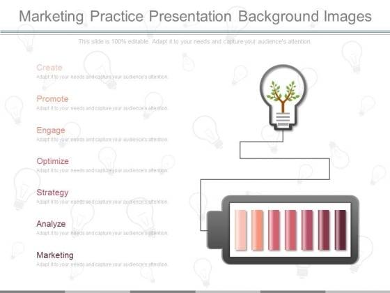 Marketing Practice Presentation Background Images