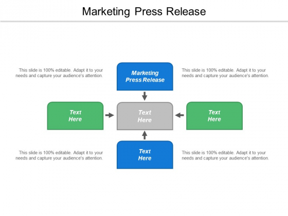 Marketing Press Release Ppt PowerPoint Presentation Example 2015 Cpb