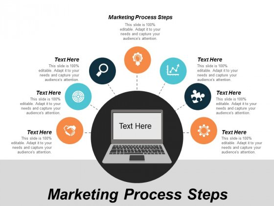 Marketing Process Steps Ppt Powerpoint Presentation Infographics Cpb