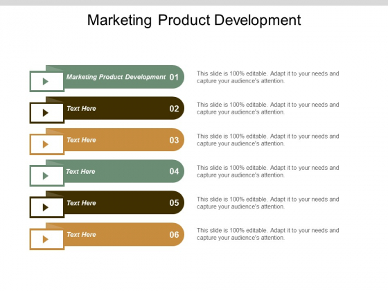 Marketing Product Development Ppt Powerpoint Presentation Outline Vector Cpb
