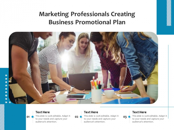 Marketing Professionals Creating Business Promotional Plan Ppt PowerPoint Presentation File Files PDF