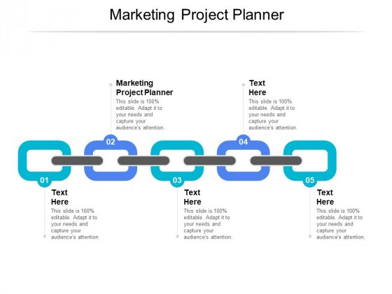Marketing Project Planner Ppt PowerPoint Presentation Slides Infographics Cpb
