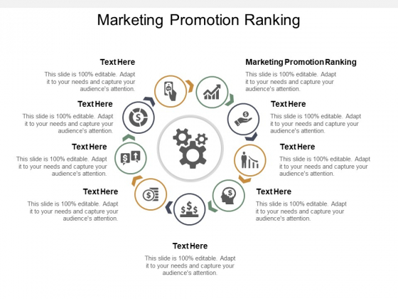 Marketing Promotion Ranking Ppt PowerPoint Presentation Styles Background Image Cpb