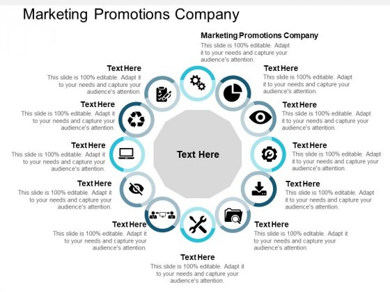 Marketing Promotions Company Ppt PowerPoint Presentation Model Pictures Cpb