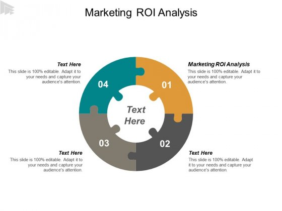 Marketing ROI Analysis Ppt PowerPoint Presentation Outline Introduction Cpb