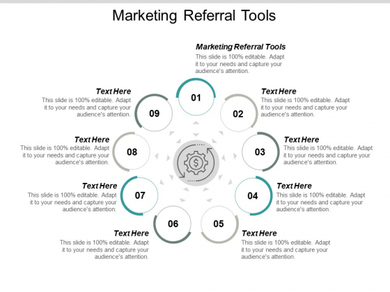 Marketing Referral Tools Ppt PowerPoint Presentation Gallery Backgrounds Cpb