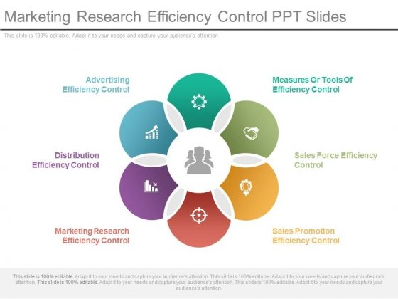 Marketing Research Efficiency Control Ppt Slides