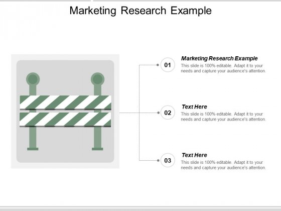 Marketing Research Example Ppt PowerPoint Presentation Pictures Templates Cpb