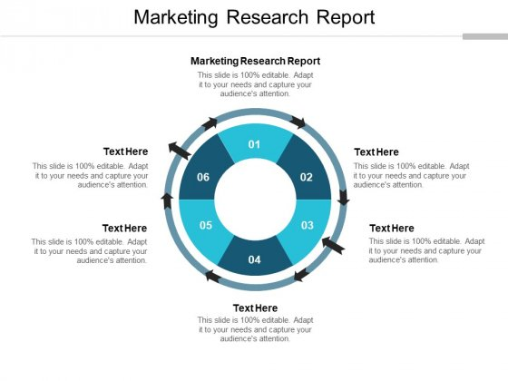 Marketing Research Report Ppt PowerPoint Presentation