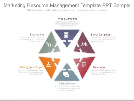 Marketing Resource Management Template Ppt Sample