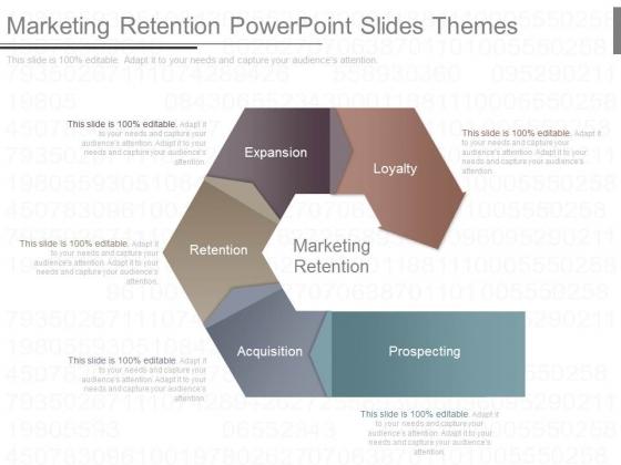 Marketing Retention Powerpoint Slides Themes