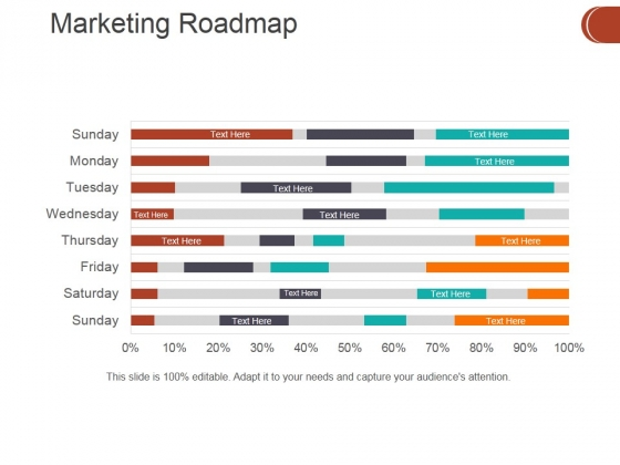 Marketing Roadmap Ppt PowerPoint Presentation Infographics Example