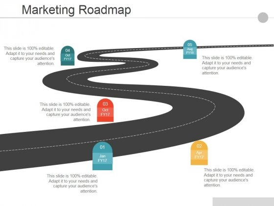 Marketing Roadmap Ppt PowerPoint Presentation Layout