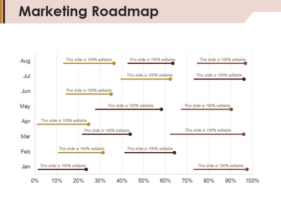 Marketing Roadmap Ppt Powerpoint Presentation Visual Aids Diagrams