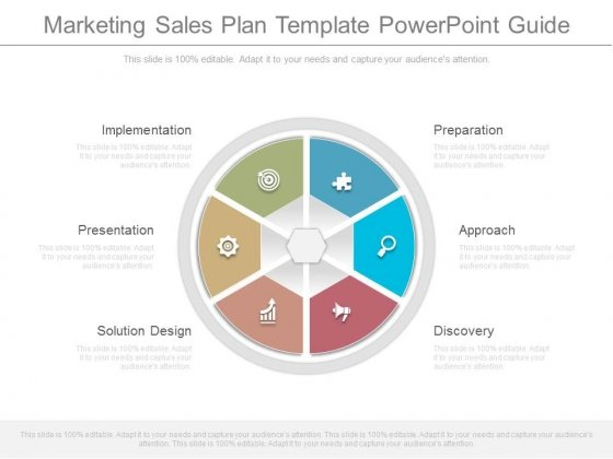Marketing Sales Plan Template Powerpoint Guide Powerpoint Templates