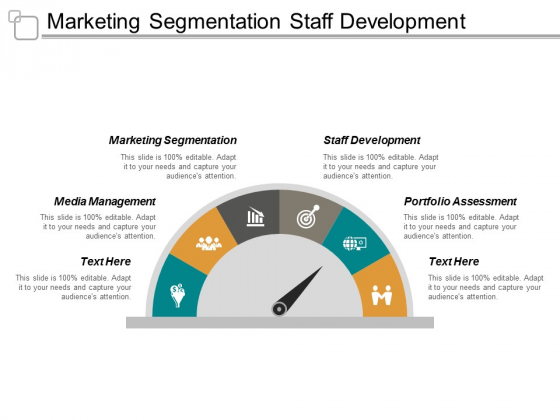 Marketing Segmentation Staff Development Media Management Portfolio Assessment Ppt PowerPoint Presentation Infographics Deck