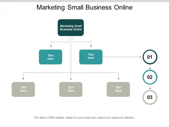 Marketing Small Business Online Ppt PowerPoint Presentation Portfolio Example Cpb