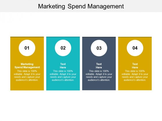Marketing Spend Management Ppt PowerPoint Presentation Inspiration Example Cpb Pdf