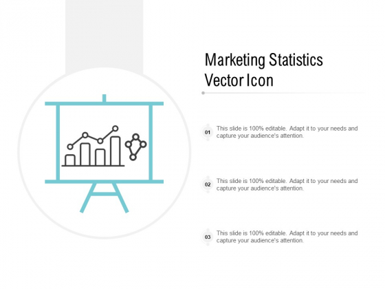 Marketing Statistics Vector Icon Ppt PowerPoint Presentation File Skills