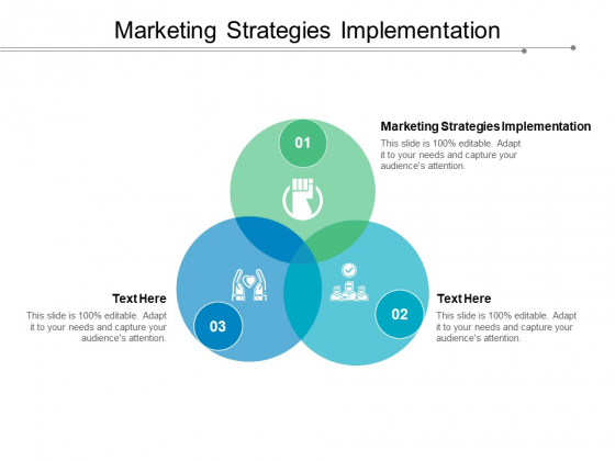 Marketing Strategies Implementation Ppt PowerPoint Presentation Show Examples Cpb