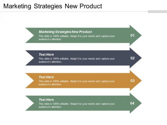 Marketing Strategies New Product Ppt PowerPoint Presentation Layouts Ideas Cpb