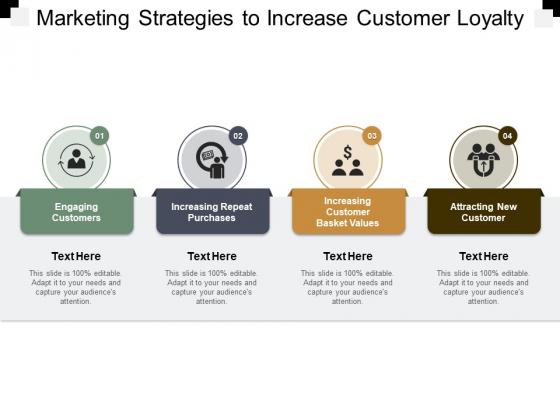 Marketing Strategies To Increase Customer Loyalty Ppt PowerPoint Presentation Portfolio Model