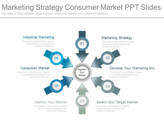 marketing strategy consumer market ppt slides powerpoint templates