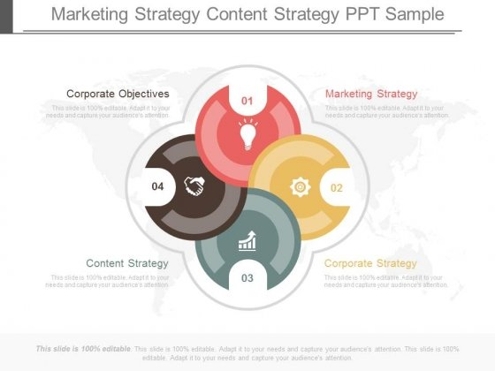 Marketing Strategy Content Strategy Ppt Samples