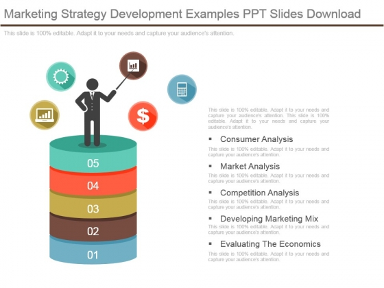 Marketing Strategy Development Examples Ppt Slides Download