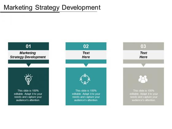 Marketing Strategy Development Ppt PowerPoint Presentation Model Outline Cpb