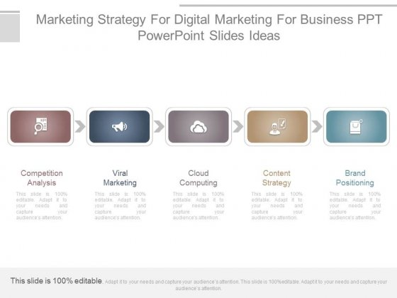 Content strategy PowerPoint templates, Slides and Graphics