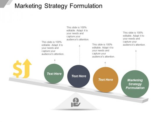 Marketing Strategy Formulation Ppt PowerPoint Presentation Infographic Template Example Topics Cpb